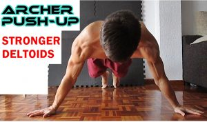 Archer Pushup